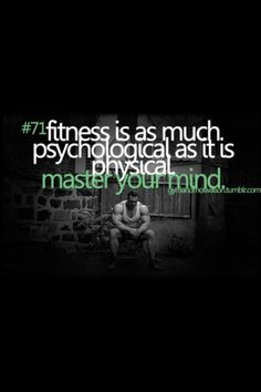 Master your fitness