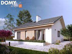 Projekt domu parterowego - Fistaszek (81 m2). Pełna prezentacja projektu dostępna jest na stronie: https://www.domywstylu.pl/projekt-domu-fistaszek.php. #fistaszek #domywstylu #mtmstyl #projekty #projektygotowe #dom #domy #projekt #budowadomu #budujemydom #design #newdesign #home #houses #architektura #architecture