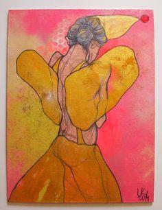 "Saatchi Art Artist Lena Kramarić; Painting, ""L70"" #art"