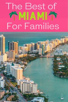 Are you planning a Miami vacation with kids? Use our guide filled with things to do, where to eat, and where to stay when visiting Miami. From the Everglades to South Beach, we have you covered. Family Vacation Destinations, Florida Vacation, Travel Destinations, Travel Around The World, Around The Worlds, Stuff To Do, Things To Do, South Beach, State Parks