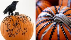 Pumpkin Decor – No Carving Required — Celebrations at Home