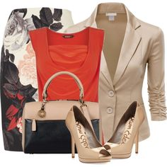 A fashion look from July 2014 featuring Doublju blazers, Phase Eight skirts and Sam Edelman pumps. Browse and shop related looks.