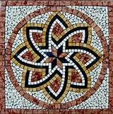 Pics Photos - Marble Mosaic Square Pattern Medallion Floor ...