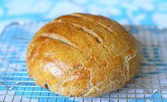 "Rustic ""Rye"" Loaf (green banana flour, almond flour, coconut flour, tapioca flour, psyllium, eggs, yeast...)"