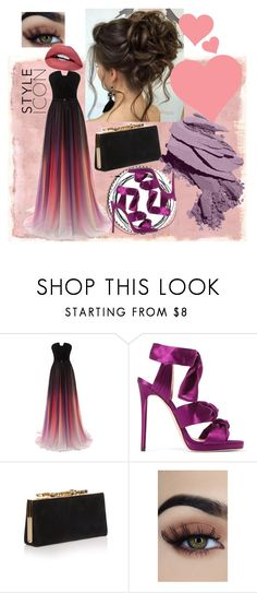 """""""pink and purple"""" by reinenoire on Polyvore featuring Rothko, Jimmy Choo and Bobbi Brown Cosmetics"""