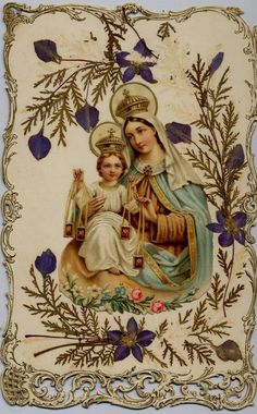 Our Lady of Mount Carmel and The Child Jesus