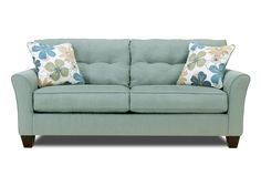 $295 I would change out the pillows, but I like the sofa, and it's cheap!Kylee Lagoon Sofa