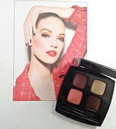 Chanel Notes de Printemps Spring 2014 LIMITED EDITION eye shadow quad.