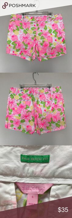 Lilly Pulitzer Shorts, Callahan Style Worn a handful of times, EEUC. Size 6. Lilly Pulitzer Shorts