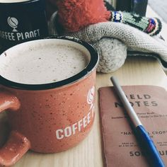 Delicious coffee and your writings