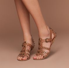 c625b322d Meredith Gladiator Sandal Studded Sandals