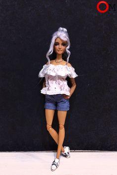 Лёгкий-нежный образ на 14 февраля/Light-gentle image on February 14  #barbie #barbiedoll #doll #clothes #dollclothes #барби #барбиодежда #одежда #кукла #кукольнаяодежда