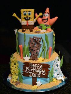 Spongebob Birthday Cakes For Boys