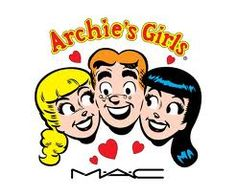 MAC Cosmetics – 'Archie's Girls' : Are You A Betty Or A Veronica ? MAC cosmetics is teaming up with Archie Comics for Archie's Girls, their new collection will be celebrating the looks of Betty and Veronica . Read More . Girls Mac, S Girls, Archie Comics, Archie Betty And Veronica, Girls Lipstick, Mac Lipstick, Mac Makeup, Makeup Art, Beauty Makeup