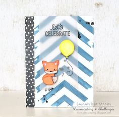 let's celebrate (fox) card - ls, watermark | samsscrapcandy.… | Flickr - Photo Sharing!