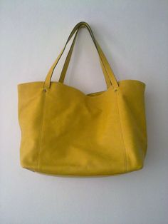TRF Yellow Tote - colour flash