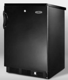 Affordable  Summit Refrigeration SCFF55LBLIMSSHH 5 cu ft Undercounter Freezer, Ice Maker, SS Door, Handle