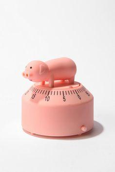 Pig timer - adorable!