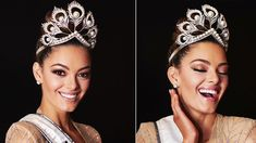 The Iconic Mikimoto Crown is Back in Miss Universe Demi Leigh Nel Peters, Diva Dolls, Pageant, Jewerly, Universe, Dracula, Headpieces, Celebrities, Joseph