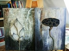 Before...and... After Painting, Art, Art Background, Painting Art, Kunst, Paintings, Performing Arts, Painted Canvas, Drawings