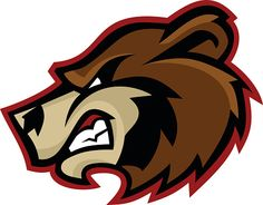 Bear Mascot Logo vector art illustration