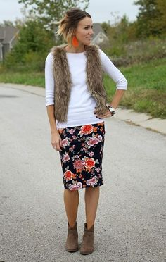 Contrasting textures add excitement to your outfit