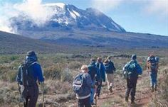 Kilimanjaro climbing routes improved from Kilimanjaro climb expeditions and Mountaineering Adventures Ltd