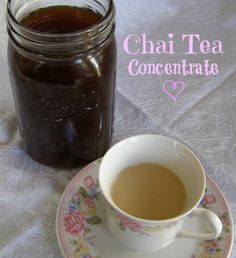 Chai Tea Concetrate ~ Growing Up Gabel