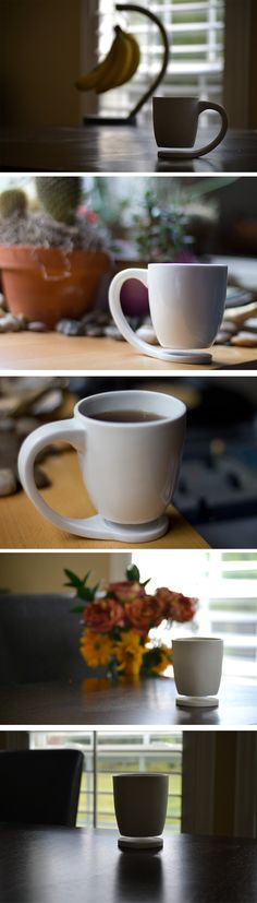 Floating Mug par Tigere Chiriga