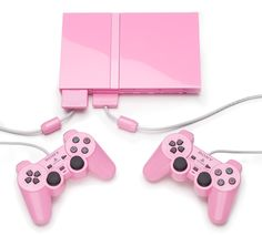 Sony Playstation 2. Pink. 2007.