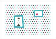 print print print   Spots print ilustración Lunares by albaricokeazul on Etsy, €10.00  Approximately $13.33 USD