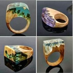 More rings available tomorrow At ArtfulResin.etsy.com