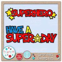 Super Titles Digital Clip Art