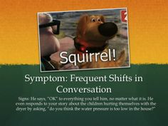 Squirrel, humor, satire, wtf, husband, marriage, add, adhd, married, symptoms, signs
