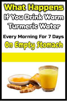 What Happens If You Drink Warm Turmeric Water Every Morning For 7 Days On Empty Stomach The turmeric is one outstanding spice that has. Daily Health Tips, Health Tips For Women, Health And Fitness Tips, Health And Wellness, Tumeric Benefits, Turmeric Water, Water Benefits, Water Recipes, Natural Health Remedies
