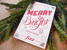 Letterpress Christmas Cards | The Paper Blog
