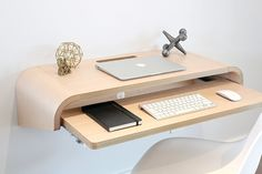 Zip Into College By Using These Tips 2 – College Pallette, Study Table Designs, Dream Desk, Temporary Work, Floating Desk, Study Areas, Laptop Desk, Home Desk, End Tables With Storage