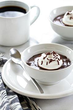 Homemade Chocolate Pudding is one of those things that I think everyone should know how to make. Sure, a snack pack will do in a pinch, but there's something truly transcendent about the real stuff. And...