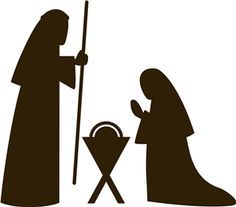 nativity silhouette - Google Search