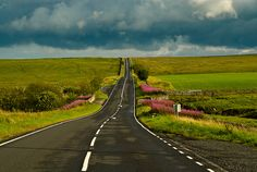 Northumberland National Park, England - miles of amazing scenerey.