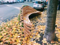 Fancy bench in Portland | ideas for cities