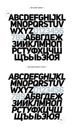 Fontfabric type foundry presents Uni Sans Free. Four font weights set in Caps from our well known best seller Uni Sans, available for free d...