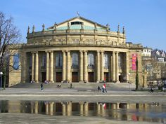 Theater And Opera Building Stuttgart Germany Photograph