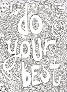 Joyful Inspiration Adult Coloring Book 31 Stress Relieving Designs