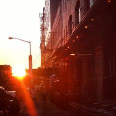 NYC sunset. #nothingbetter