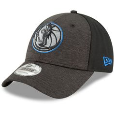 online store 2b342 e8186 Dallas Mavericks New Era Heathered Black Shaded Front 9FORTY Adjustable Hat,  Your Price
