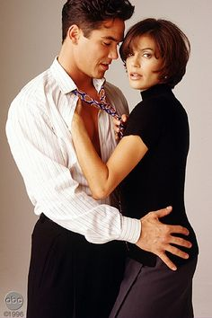 """Lois Lane and Clark Kent. """"Lois and Clark: The New Adventures of Superman"""""""