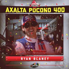 Ryan Blaney wins his first NASCAR Cup Series race!