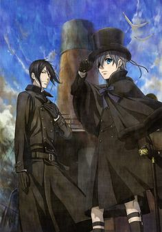The new visual from Minako Shiba, for the Black Butler: Book of Atlantic movie, which will premiere January 21 2017