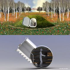 The Groundfridge Is A Pre-Fab Underground Cellar That Stays Cool Without Electricity - if it's hip, it's here